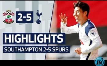 [Highlights] SOUTHAMPTON 2-5 SPURS - Premier League Highlights